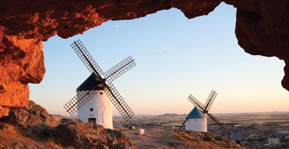 don quixote - wind mills